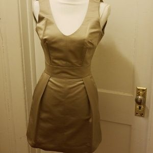 French connection  taupe color  dress sz6